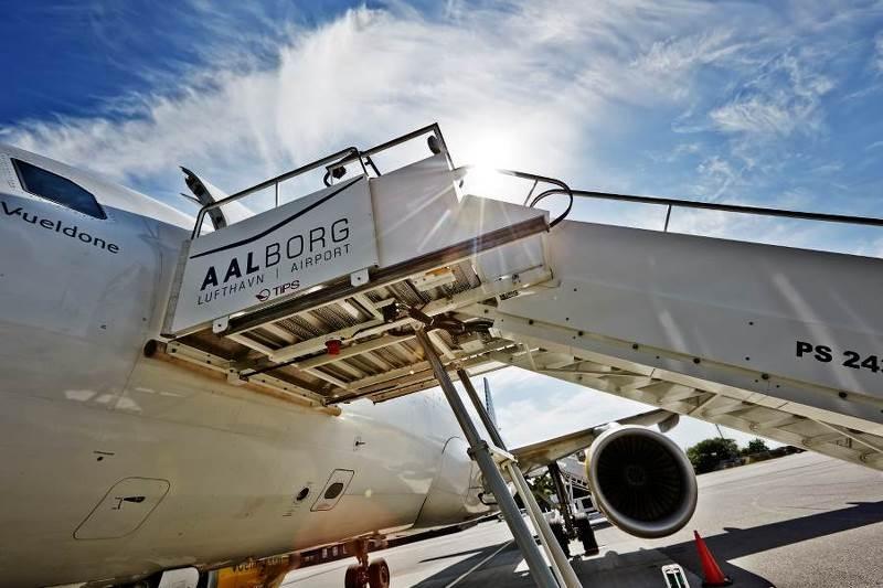 fly fra ålborg lufthavn